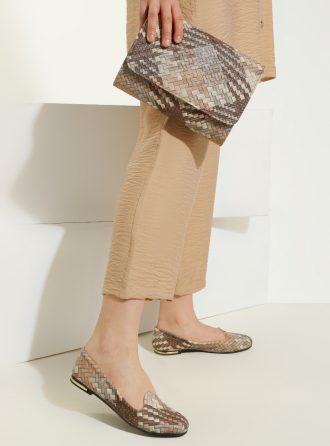 ست کیف و کفش زنانه بژ     Just Shoes 1059256