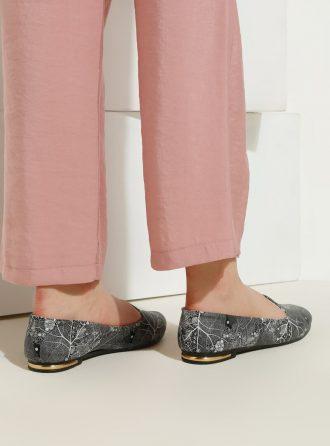 ست کیف و کفش زنانه طوسی     Just Shoes 1059266