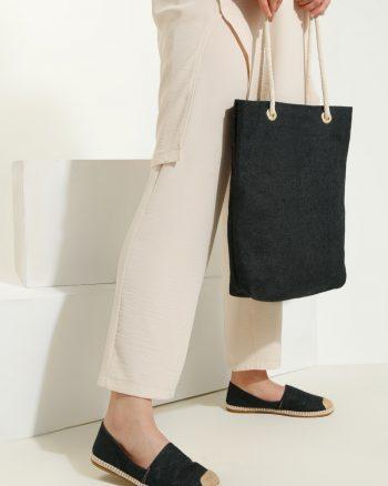 ست کیف و کفش زنانه مشکی     May Shoes&bags 1058424