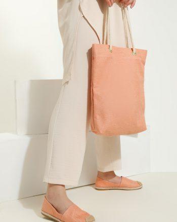 ست کیف و کفش زنانه صورتی     May Shoes&bags 1058426