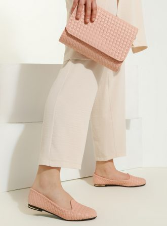 ست کیف و کفش زنانه صورتی روشن     Just Shoes 1059255