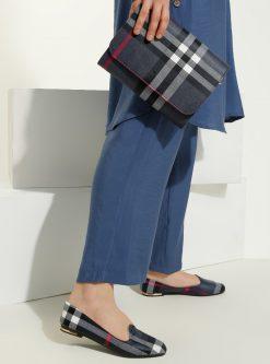 ست کیف و کفش زنانه مشکی - شطرنجی     Just Shoes 1059261