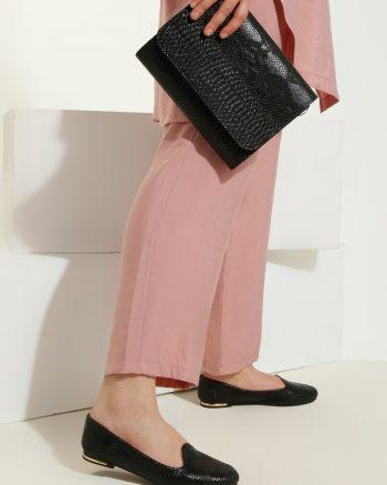 ست کیف و کفش زنانه مشکی     Just Shoes 1059260