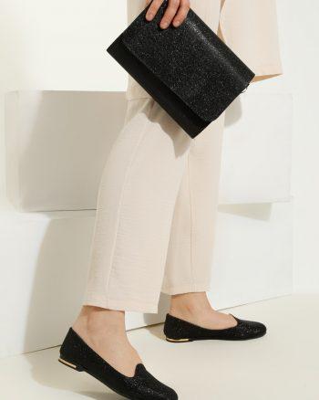 ست کیف و کفش زنانه مشکی     Just Shoes 1059263