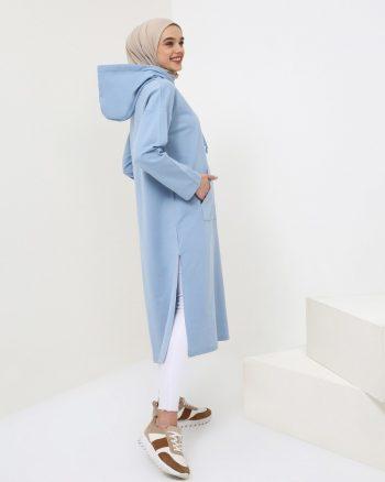 ست لباس گرمکن زنانه جیب دار - اسپرت - تونیک     Benin 858441