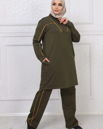 ست لباس گرمکن زنانه یشمی     ModagãœL 1059689