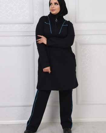 ست لباس گرمکن زنانه سورمه ای     ModagãœL 1059687