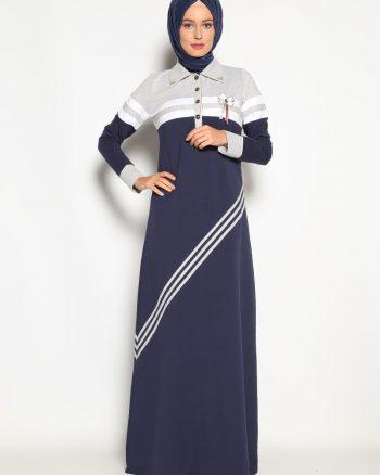ست لباس گرمکن زنانه پیراهن - سورمه ای     Sementa 161487