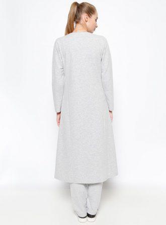 ست لباس گرمکن زنانه کاپ - طوسی     Sementa 235461