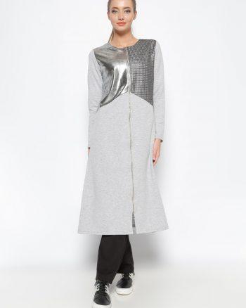 ست لباس گرمکن زنانه کاپ - طوسی     Sementa 235465