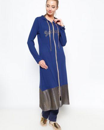ست لباس گرمکن زنانه کاپ - آبی     Sementa 235482