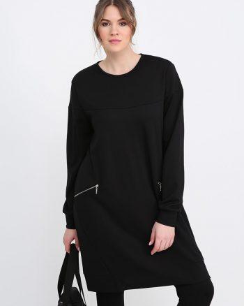 ست لباس گرمکن زنانه مشکی     Alia 610216
