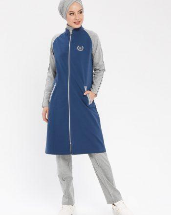 ست لباس گرمکن زنانه طوسی     Elif Okur 312519