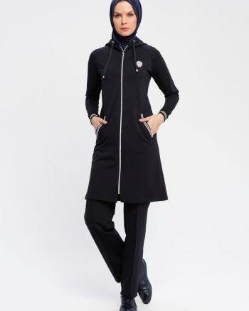 ست لباس گرمکن زنانه تیره تیره - سورمه ای     Elif Okur 659383