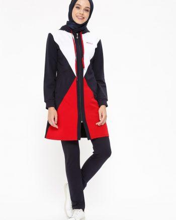 ست لباس گرمکن زنانه سورمه ای     ŞıMart 479600