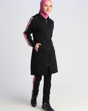 ست لباس گرمکن زنانه سورمه ای     ŞıMart 479614