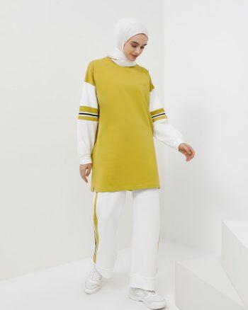 ست لباس گرمکن زنانه زعفرانی     Benin 876628