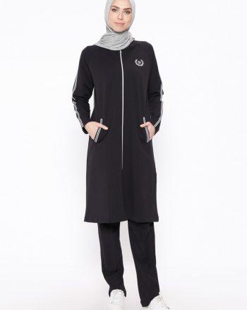 ست لباس گرمکن زنانه تیره تیره - سورمه ای     Elif Okur 389524
