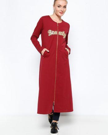 ست لباس گرمکن زنانه اسپرت - کاپ - زرشکی     Sementa 250657