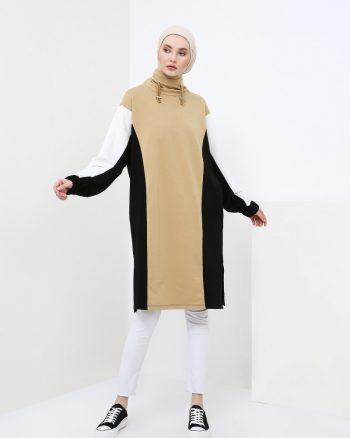 ست لباس گرمکن زنانه گارنیلی - تونیک - بژ     Benin 751667