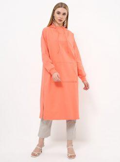 ست لباس گرمکن زنانه اسپرت - تونیک - اناری     Everyday Basic 770448