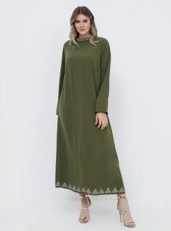 لباس شب و مجلسی سایز بزرگ زنانه لباس شب  - نرم - یشمی     Alia 942031
