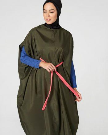 مایو اسلامی سایز بزرگ زنانه سایز - مایو - یشمی     Mayovera 415277