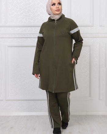 ست لباس گرمکن زنانه یشمی     ModagãœL 1059692