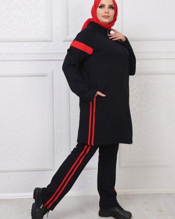 ست لباس گرمکن زنانه سورمه ای     ModagãœL 1059694