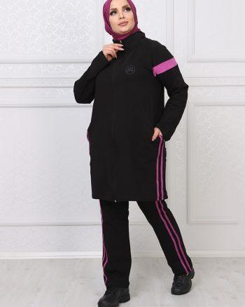 ست لباس گرمکن زنانه مشکی     ModagãœL 1059693