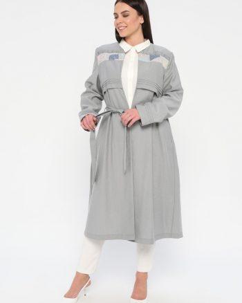 ست سایز بزرگ زنانه کاپ تونیک  - طوسی     TuäžBa 1014710