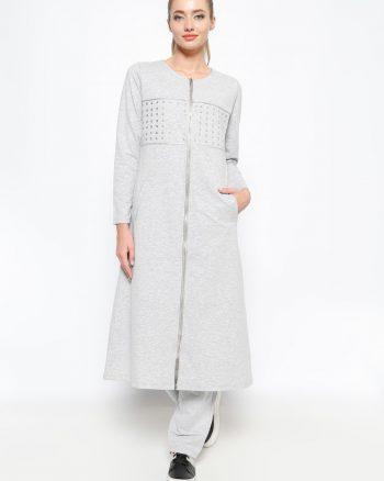 ست لباس گرمکن زنانه کاپ - طوسی     Sementa 235459