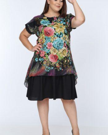 پیراهن طرحدار زنانه  D'SEN STORE 156581522
