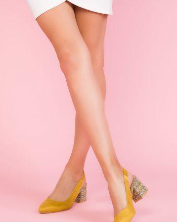 کفش پاشنه بلند زنانه رنگارنگ  جیر SOHO 1566118544