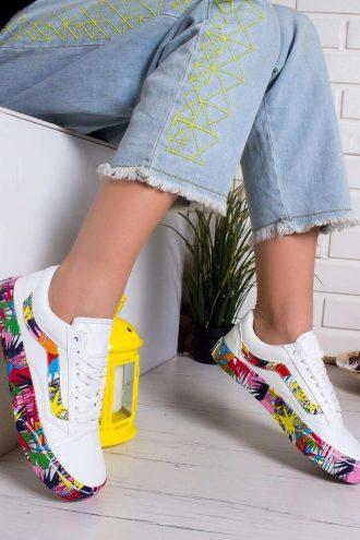 کفش اسپرت سفید  Modagon 156576286