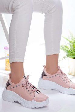 کفش اسپرت صورتی روشن  Modagon 156576266