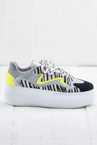کفش پاشنه بلند لژدار زنانه بژ  Elle Shoes 156526451