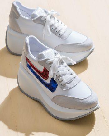 کفش اسپرت اسنیکر زنانه الاستن Elle Shoes 156634279