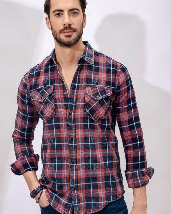پیراهن جین  مردانه Sateen Men 1566293216