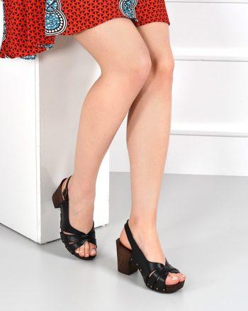 کفش پاشنه بلند زنانه مشکی  Gön 1565335894