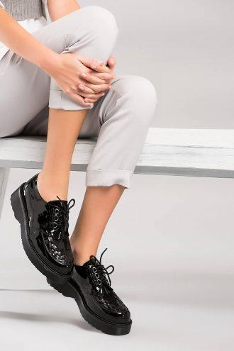 کفش زنانه مشکی  100% اصل چرم İnci 1565598651