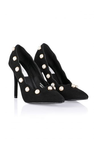 کفش پاشنه بلند مشکی زنانه  İpekyol 1565773691