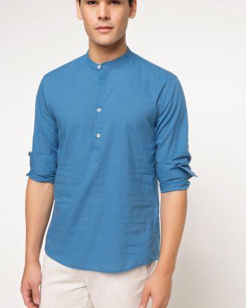 پیراهن پارچه نازک  مردانه DeFacto 1566118799