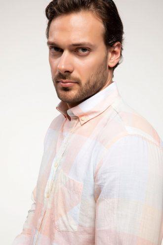 پیراهن  مدرن چهارخونه مردانه DeFacto 15656989