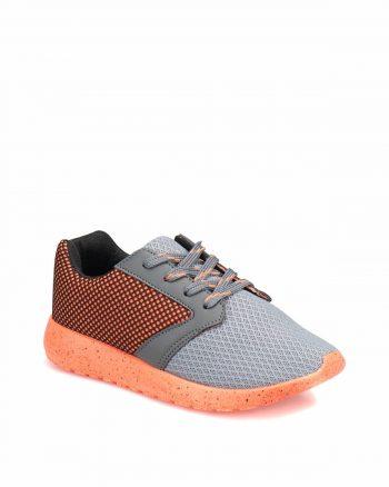 کفش اسپرت اسنیکر بچه گانه مردانه طوسی الاستن I COOL 15651927