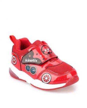 کفش پیاده روی بچه گانه مردانه قرمز  Kinetix 156499995