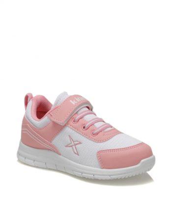 کفش دویدن بچه گانه دخترانه صورتی سفید  Kinetix 156499972