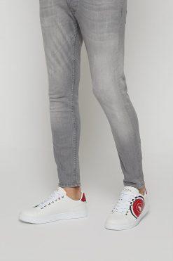 کفش اسپرت اسنیکر مردانه سفید الاستن U.S. Polo Assn. 1565698186