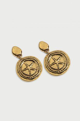 گوشواره رنگ طلایی زنانه  İpekyol 1565773566