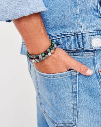 دستبند مردانه سبز  TRENDYOL MAN 1565947921
